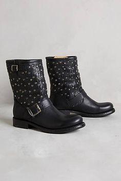 Frye Jenna Cut Stud Short Boots