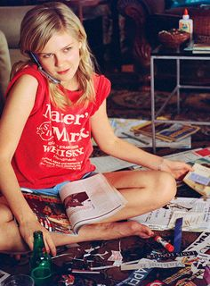 Style Icon :: Kirsten Dunst in Elizabethtown Shia Labeouf, Logan Lerman, Amanda Seyfried, New Jersey, Anthology Film, Manic Pixie Dream Girl, Road Trip Map, Nostalgia, Model Magazine