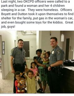 Not all police are bad.
