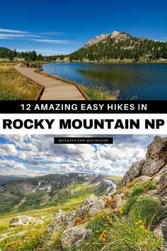 Discover the best easy hikes in Rocky Mountain National Park! If you're planning to visit Rocky Mountain National Park in Colorado and looking for easy hiking trails in Rocky Mountain National Park then this guide has 12 awesome ones to add to your list! I Colorado hikes I hiking Rocky Mountain National Park I Colorado trails I hiking trails in Colorado I things to do in Rocky Mountain National Park I Colorado hiking trails I #RockyMountainNationalPark I #Colorado #hiking