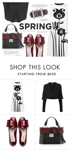 """""""Spring Day to Night"""" by katarina-blagojevic ❤ liked on Polyvore featuring Victoria, Victoria Beckham, Creatures Of The Wind, Miu Miu and Charriol"""
