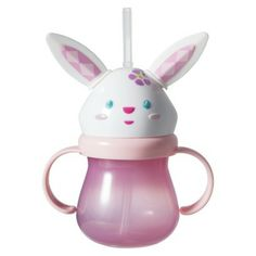Easter Figural Sippy Cup - Pink Bunny