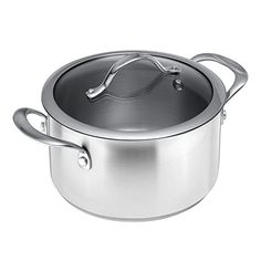 Kuhn Rikon Colori 35 L Cooking Pot 787 Silver -- Check this awesome product by going to the affiliate link Amazon.com at the image.