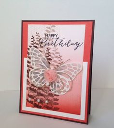 Stampin' Up!, Butterfly Basics, DIY birthday cards,