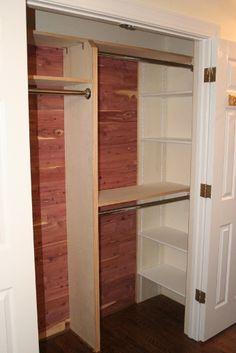 side shelves in nook bedroom