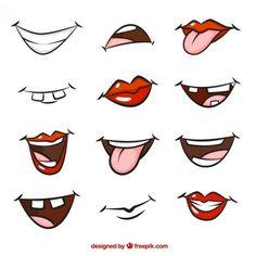 bocas animadas png - Buscar con Google