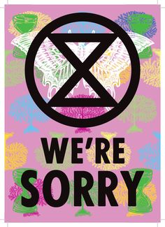 """How Extinction Rebellion designed """"angry but peaceful"""" protest graphics - NUS Protest Posters, Protest Art, Protest Signs, Political Posters, Save Our Earth, Save The Planet, Refugee Crisis, About Climate Change, Peaceful Protest"""
