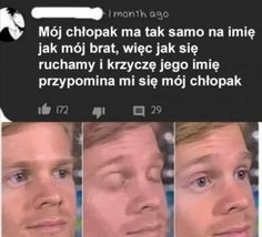 To samo imię - chamsko. Very Funny Memes, Wtf Funny, Funny Cute, Avatar Ang, Polish Memes, Weekend Humor, Best Memes Ever, Aesthetic Memes, First Language