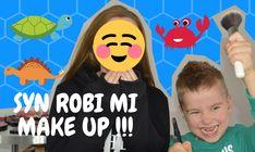 Tym razem możecie zobaczyć, jak mój pięcioletni syn robi mi makijaż :-)