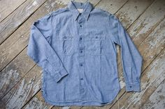 Buzz Rickson Blue Chambray Shirt