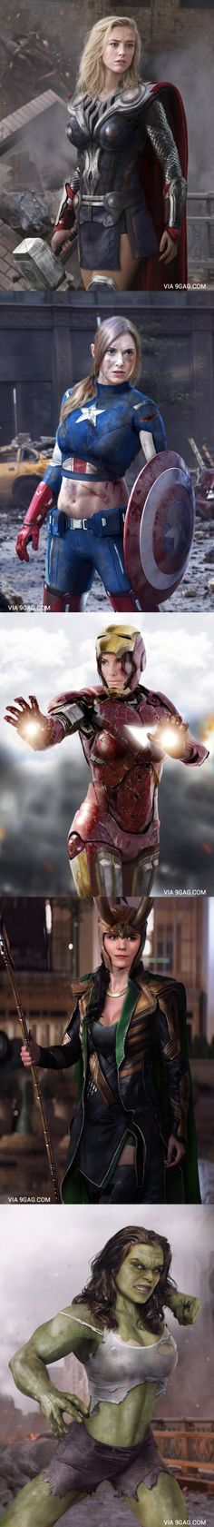 Sexy Avenger