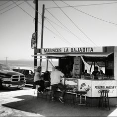 Great taco stand in Playas De Tijuana