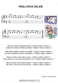 Aa School, School Clubs, Easy Piano Sheet Music, Kids Piano, Advent, Musicals, Exercise, Winter Time, Ejercicio