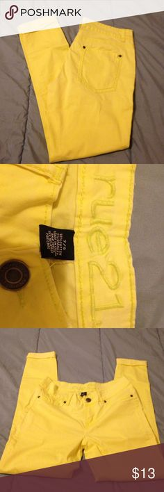 Rue21 capri skinnies Bright yellow to spice up an outfit Rue 21 Shorts