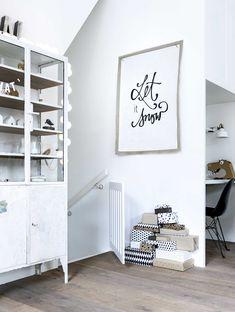 DIY:: Let It Snow / free printable