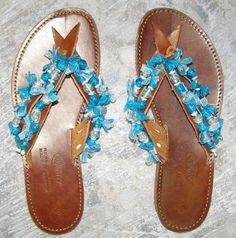 Χειροτεχνημα - Handmade: Σαγιοναρες - Sandals Palm Beach Sandals, Shoes, Zapatos, Shoes Outlet, Shoe, Footwear