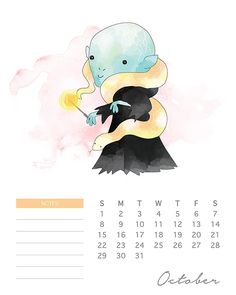 Do your kids love Harry Potter? This adorable watercolor cartoon Harry Potter calendar has all of your favorite characters! Printable and FREE! Harry Potter Diy, Natal Do Harry Potter, Harry Potter Navidad, Harry Potter Calendar, Harry Potter Fiesta, Harry Potter Christmas, Harry Potter Quotes, Hogwarts, Star Wars Cute