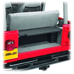 Bestop® Instatrunk™ for 97-06 Jeep® Wrangler TJ