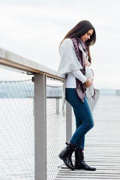 Mein liebstes Outfit während der Schwangerschaft. Schwangerschaftsmode, Umstandsmode, Mama Outfit, Pregnancy Outfit, Bump Style