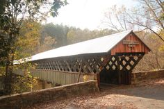 Covered Bridges in Blount County, Alabama