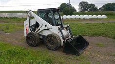 1998 Bobcat 873 Tire Skid Steer Loader Diesel Engine Construction Machine OROPS