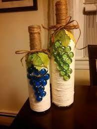 Картинки по запросу garrafas decoradas com tecidos