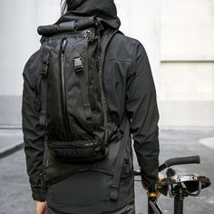 The Hauser by Mission Workshop - Weatherproof Bags & Technical Apparel - San Francisco & Los Angeles - Built to endure - Guaranteed forever Tactical Wear, Tactical Clothing, Mission Workshop, Edc Bag, Computer Backpack, Outdoor Backpacks, Designer Backpacks, Rucksack Backpack, Bag Accessories