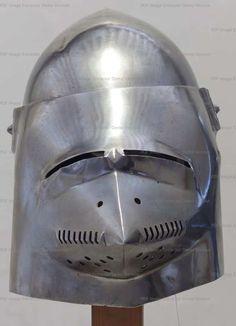 Bascinet, Musée de l'Armée, Paris   1380-1400 ref_arm_1547_004
