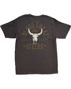 61a6aa7dd Cody James Men's Blood, Sweat and Steers Short Sleeve T-Shirt, Black