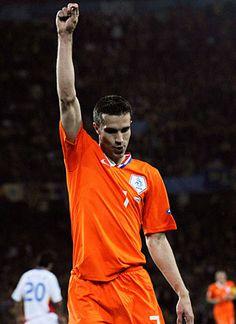 Robin van Persie. Hup, Holland, hup!