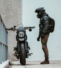 Ducati Scrambler, Cafe Racer Motorcycle, Moto Bike, Motorcycle Outfit, Cafe Racer Style, Bike Style, Moto Style, Cafe Bike, Cafe Racer Bikes