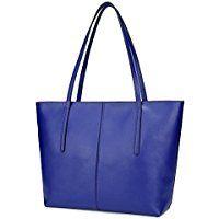 Ilishop Women's New Fashion Handbag Genuine Leather Shoulder Bags Tote Bags Hot Sale