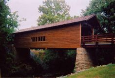 Tennessee I think this is the bridge that they used in that movie with Clint Eastwood and Meryl Streep <3