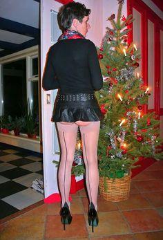 Jane Moore, Women's Leggings, Sexy, Latex, Leather Skirt, Stockings, Woman, Skirts, House