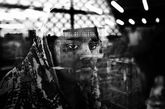 Haunting Double Exposures Capture Emotional and Physical Devastation in Single Frames