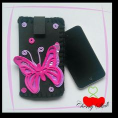 Funda para celular... Butterfly by Cherry Skull