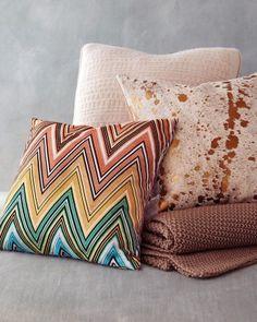 Decorative Pillows by Missoni | Martha Stewart Weddings