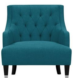 Classic Teal Accent Chairs Style