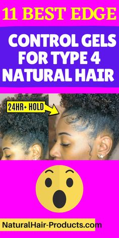 Olive Oil Edge Control, Best Edge Control, Natural Hair Tips, Going Natural, Natural Hair Styles, Type 4c Hairstyles, Black Hair Magazine, Flaxseed Gel, Type 4 Hair