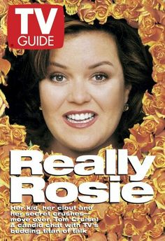 April 5, 1997: Rosie O'Donnell Rosie Odonnell, Secret Crush, Tv Guide, Candid, Kids, Magazine Covers, Infants, Children, Secret Love