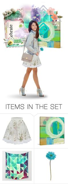 """She prefers the sunny side of the street"" by tokyotrekker ❤ liked on Polyvore featuring art, contest, aoa, summer2016 and seolhyun"