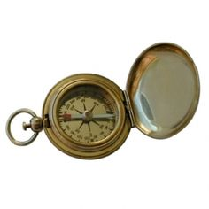 Heritage - COMPASS - POCKET FOB - Brass  Item 1105831916    A classic little fob watch style compass that clicks open.    Beautifully crafted in antiqued brass the retro style compass inside is perfect for time travel... or to help someone find their way home?
