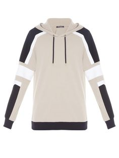 Colourblock hooded sweatshirt | Balmain | MATCHESFASHION.COM UK