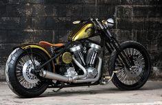 bobbers | Cool Stuff We Like: Darwin Motorcycles Brass Balls Bobbers