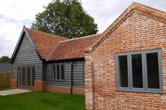 Barn conversion in Suffolk