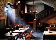 Where to eat in Tallinn: What about the wonderful Olde Hansa restaurant