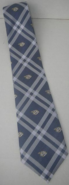 3be91864e3fb New unused Nashville Predators officially licensed NHL hockey neck tie WOT  #fashion #clothing #