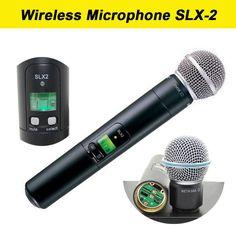(46.98$)  Buy here - http://aiewb.worlditems.win/all/product.php?id=32775034012 - 2017 UHF Wireless Microphone  SLX-2 beta58 wireless Handheld transmitter  Beta 58A Handheld Mic for karaoke / KTV / DJ SLX2, slx