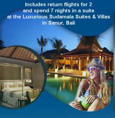 Win a Holiday for 2 in Bali