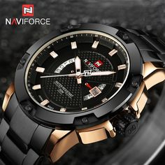 17.99$  Buy now - http://alim64.shopchina.info/go.php?t=32771714369 - NAVIFORCE Watches Men Brand Luxury Full Steel Army Military Watches Men's Quartz Hour Clock Man Watch Sports Wrist Watch relogio 17.99$ #magazineonlinewebsite